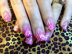 Birthday Nails for my baby girl  by Kimhanzlik - Nail Art Gallery nailartgallery.nailsmag.com by Nails Magazine www.nailsmag.com #nailart