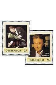 Peter Alexander stamps