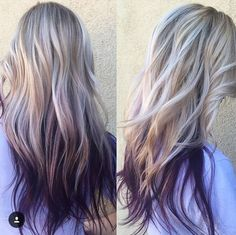 púrpura pelo es sin duda una de las tendencias más calientes del pelo en este momento, pero bueno, por lo que es Ombre! Combinar los dos y tiene un estilo increíble 'no se puede usar durante todo el año. Aquí encontrará una increíble recopilación de púrpura Ombre de la oscuridad a la luz y todo …