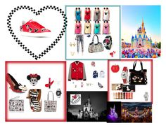 """MICKEY MOUSE CONTEST - MICKEY'S WORLD"" by rebeccadavisblogger ❤ liked on Polyvore featuring Etude House, MOA Master of Arts, Irregular Choice, WithChic, Kathrine Baumann, Kate Spade, The Bradford Exchange, Disney, Invicta and TONYMOLY"