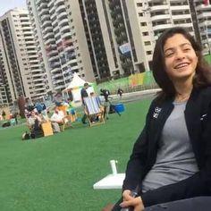 Franzi trifft Flüchtlingsschwimmerin Yusra Mardini aus Syrien. Stellt eure Fragen!
