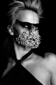 Jewelry by Eero Hintsanen Fashion Mask, 3d Fashion, Cosplay, Dark Fashion, Headgear, Headdress, Masquerade, Wearable Art, Jewelry Art