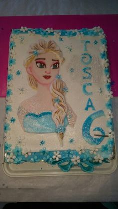 Elsa Frozen Eiskönigin Torte # Cake