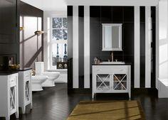 Cuarto de baño clásico y muy elegante