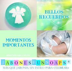 Jabón de Ángel, ideal para recuerdo de bautizo o primera comunión. Solo de Jabones Fun Soaps. funsoaps@hotmail.com