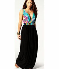 boohoo Kara Low V-Neck Contrast Printed Trim Maxi Dress Floaty, floor-sweeping and fashion-forward, the maxi dress is the most-wanted way to make waves this season. Column maxis are cool, drop waist's directional and bold prints bad ass, but easy to wear j http://www.comparestoreprices.co.uk/dresses/boohoo-kara-low-v-neck-contrast-printed-trim-maxi-dress.asp