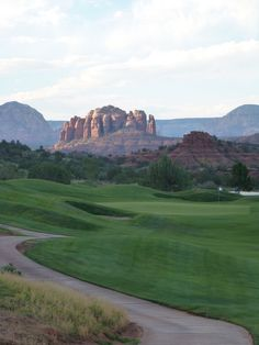 Golf course in Sedona,AZ., DeYonne Lee