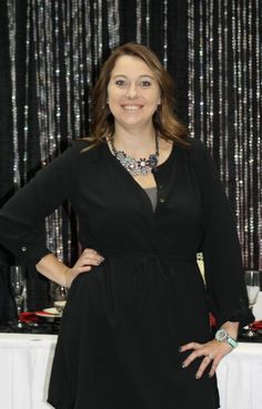 Brit, Event Coordinator at Classic Hall Event Center at the St. Cloud Wedding Expo!