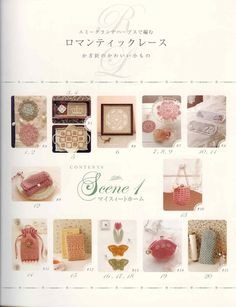 Some crochet books on this site