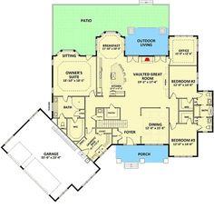 plan 36028dk angled craftsman house plan bonus rooms craftsman