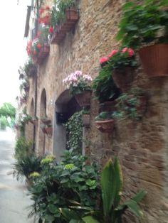 Pienza, Toscana.