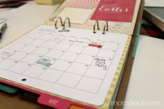 Michaels Recollections Calendar Kit ~ An Amazing Gift! - Mom 4 Real