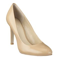 """As seen in the May issue of Better Homes & Garden.....Classic round toe pump. 3 1/2"""" heel."""