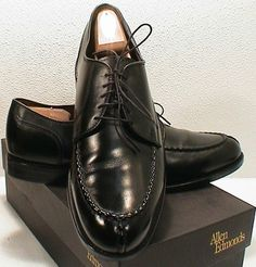 algonquin black single men Alden men's cdi algonquin blucher oxford black #303 contoured depth inlay with 3/8 insert depth capability aire-o-wick covered breathable (and removable) footbeds leather soles goodyear welt construction supple full grain leather upper.