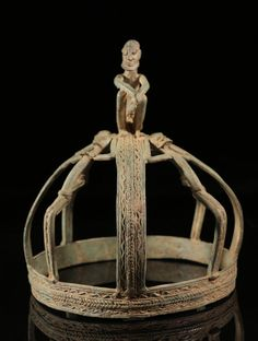 Africa | Crown from the Dogon people of Mali | Bronze
