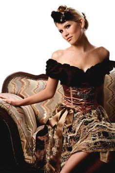 Couture Dirndl 2010 by Herzi Dirndl