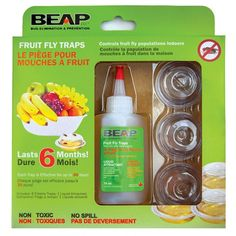 The Drop-Ins Fruit Fly Traps are super easy to use! Using our non-toxic fruit fly attractant and patented design, these traps attract and trap more fruit flies than our competition! You can leave each trap for up to 30 days and watch as the flies acc Garden Gadgets, Garden Tools, Fruit Flies, Fly Traps, Grow Your Own, Urban Homesteading, Canning, Bulbs, Perennials