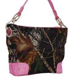 Pink Large Women Hobo Purse Handbag Tote Camo Camouflage Mossy Oak by Mossy Oak, http://www.amazon.com/dp/B00CJ0LYA4/ref=cm_sw_r_pi_dp_HD0Erb1HNKWX5