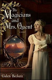 haven't read it but i would like to | The Magicians and Mrs. Quent, Galen Beckett