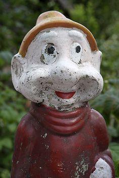 french brocante garden gnome