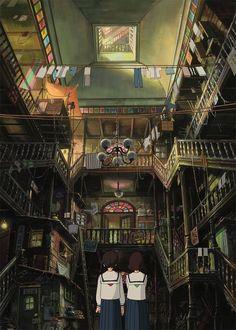 From up on Poppy Hill - dir. Goro Miyazaki (2011)