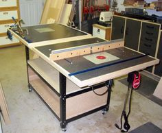 Kreg precision router table setup bars kreg prs3400 wish list face frame assembly table and router table all in one by new tim of lumberjocks keyboard keysfo Image collections