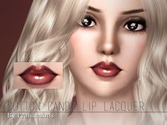 Pralinesims' Cotton Candy Lip Lacquer
