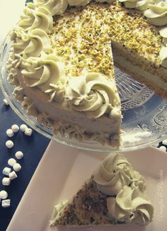 Pistachio Torte Recipe, Strawberry Torte Recipe, Blueberry Torte, Apple Torte, Raspberry Torte, Pistachio Cake, Apple Recipes, Gourmet Recipes, Cake Recipes