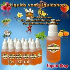 10er Set Liquid Liquidshop 30ml
