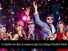 what boy to wear in college fresher party