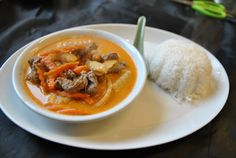 BANGKOK CAFE Trondheim, Bangkok, Thai Red Curry, Menu, Ethnic Recipes, Food, Menu Board Design, Essen, Yemek