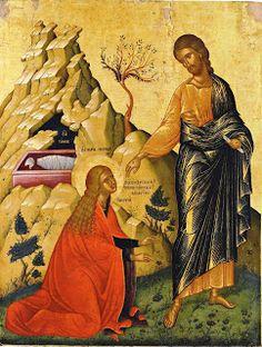 Noli me tangere, 1500 ca, 84x73, Venezia, Museo delle Icone