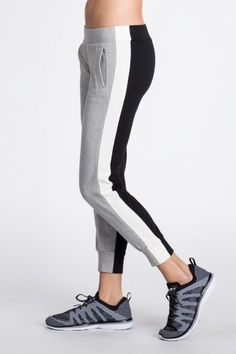 Side Stripe Jog Pant Combo