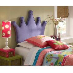And this Princess Crown headboard if I ever had a girl :)  Ayra Camelia....