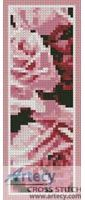 Roses Bookmark 2 Counted Cross Stitch Pattern http://www.artecyshop.com/index.php?main_page=product_info&cPath=26&products_id=1005