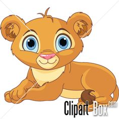 CLIPART BABY LION