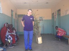 Jenny Keys went to Tanzania as part of her placement working with midwives in the community #Cavell #Nursing #Student #Placement