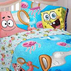 Kids Would Love These Spongebob Squarepants Bedroom And Home Decor Ideas Featured Here