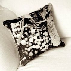 """Cluster Pillow 12"""" Square design by Archival Decor"""