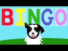 Spell, sing, and move to music with this kids' classic--Bingo!