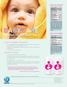 Top-Ranked Prenatal Give your baby the best! www.partnerwithhealth.usana.com