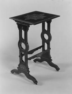 Mesas Vintage: Mesa Vintage Modular (1810–20) [Álamo, EE.UU, Madera, papel maché]