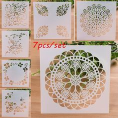 cup layering stencils for walls painting scrapbook stamping stamp album-decor CP