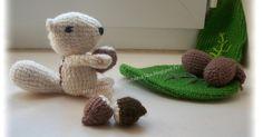 le crochet des8jika: écureuil au crochet  Squirrel crocheted