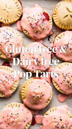 Healthy Sugar Cookies, Gluten Free Sugar Cookies, Sugar Free Desserts, Sugar Cookies Recipe, Gluten Free Baking, Vegan Baking, Gluten Free Desserts, Dairy Free Recipes, Vegan Gluten Free