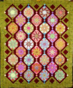 T-Persian Symmetry by Linda Rotz Miller Quilts & Quilt Tops, via Flickr
