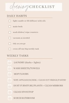 Cleaning Checklist, Cleaning Hacks, Morning Routine School, Clean Stove Top, How To Clean Mirrors, Clean Bedroom, Washing Dishes, How To Make Bed, Discover Yourself