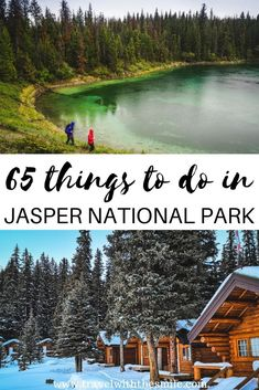 Adventurous things to do in Jasper National Park, Canada Plan your dream trip to the largest national park in the Canadian Rockies with our ultimate bucket list of things to do in Jasper National Park. Canadian Travel, Canadian Rockies, Alberta Canada, Canada Vancouver, Visit Canada, Canada Trip, Adventurous Things To Do, Canada Destinations, Travel Aesthetic