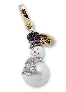 Snowman Juicy Couture Charm