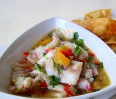 Ceviche................ Good lord, I'm craving this now